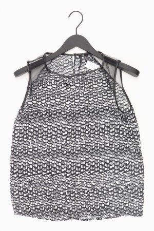 Mango Top Größe S schwarz aus Polyester