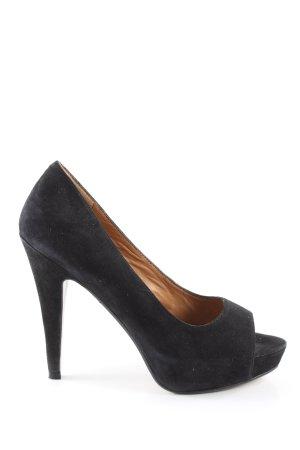 Mango Touch High Heels schwarz klassischer Stil