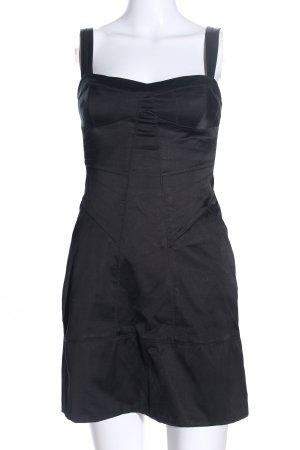 Mango Trägerkleid schwarz Casual-Look