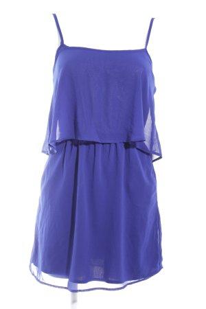 Mango Trägerkleid blau Party-Look