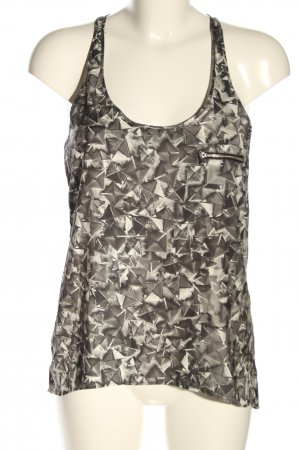 Mango Strappy Top abstract pattern casual look