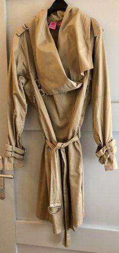 Mango Trenchcoat beige-chameau coton