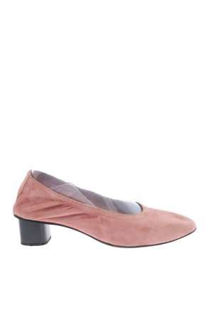 Mango Loafers roze gestippeld casual uitstraling