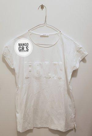 Mango Sportshirt wit