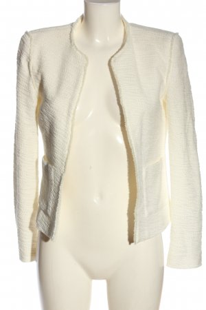 Mango Tweedblazer creme Casual-Look
