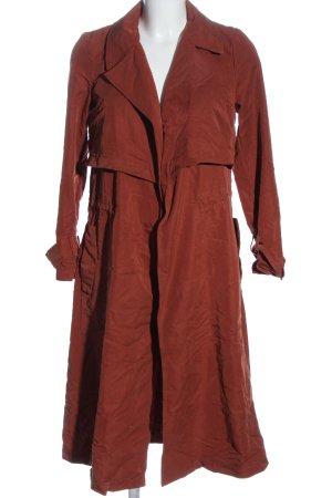 Mango Płaszcz przejściowy czerwony W stylu biznesowym