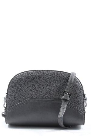 Mango Umhängetasche schwarz abstraktes Muster Casual-Look