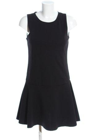 Mango Vestido estilo flounce negro estilo «business»