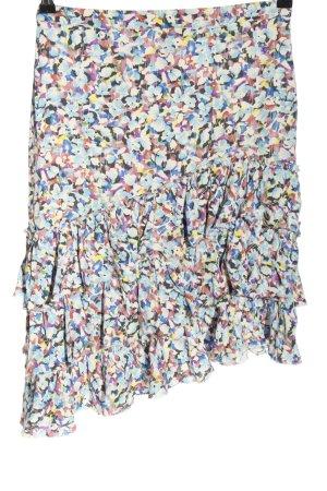 Mango Flounce Skirt allover print elegant
