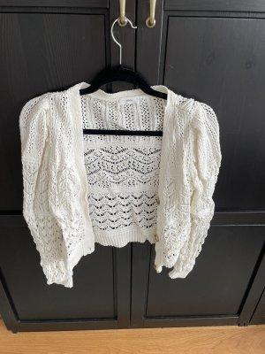 Mango Knitted Vest natural white