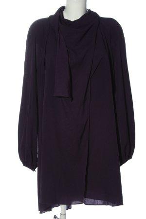 Mango Robe portefeuille violet élégant