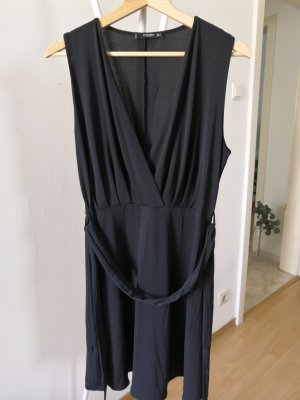 Mango Wikkeljurk zwart Polyester