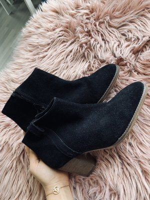 Mango Low boot noir