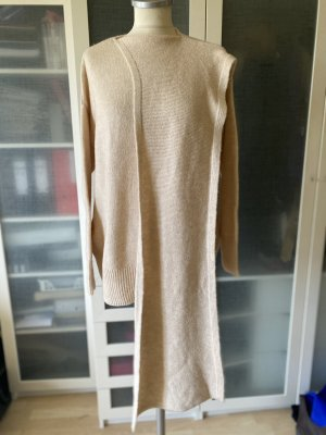 Mango Wolle Pullover Gr M nude