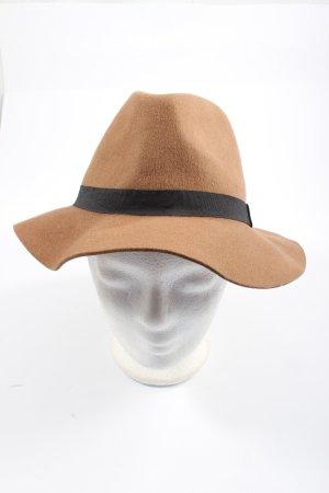 Mango Woolen Hat brown-black casual look