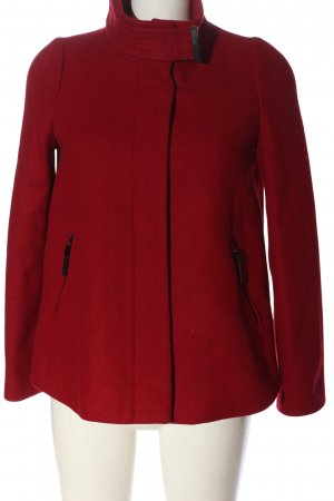Mango Wolljacke rot Casual-Look