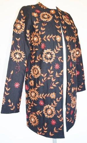 Mango - Wunderschöne Quilt Jacke in Farben des Herbstes 36/38 - neu