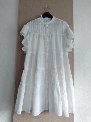 Mango wunderschönes Minikleid aus 100% Baumwolle, Grösse M oversize, neu