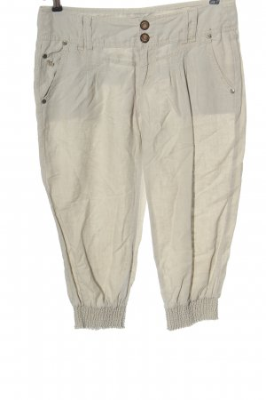 Manguun 3/4 Length Trousers light grey casual look