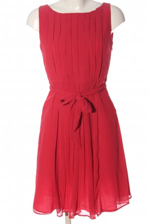 Manguun A Line Dress red casual look