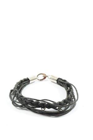 Manguun Bracelet noir style décontracté
