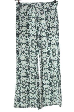 Manguun Pantalone largo stampa integrale stile casual