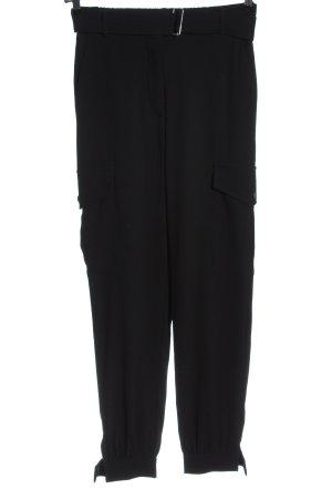 Manguun Baggy Pants schwarz Casual-Look