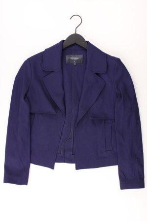 Manguun Blazer Größe 42 blau aus Polyester