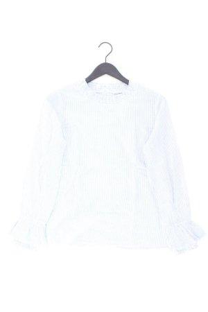 Manguun Bluse Größe 38 blau aus Baumwolle