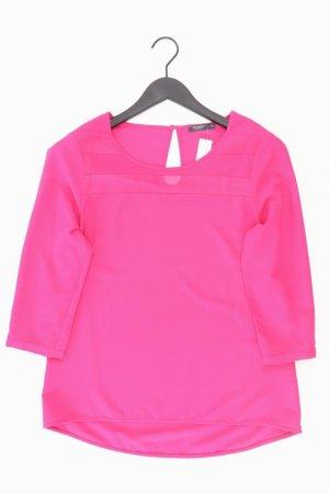 Manguun Bluse Größe 38 pink aus Polyester