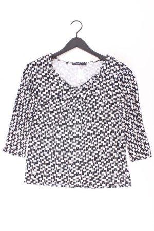 Manguun Bluse Größe 40 schwarz aus Viskose