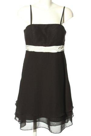 Manguun Empire Dress black-white elegant