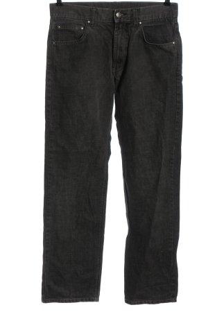 Manguun Jeans a vita alta grigio chiaro elegante