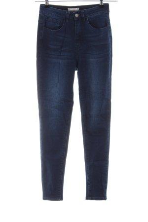 Manguun High Waist Jeans blau Casual-Look