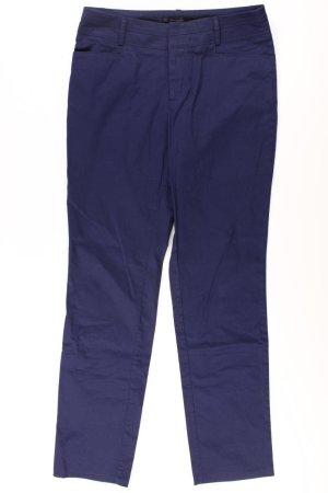 Manguun Trousers blue-neon blue-dark blue-azure cotton