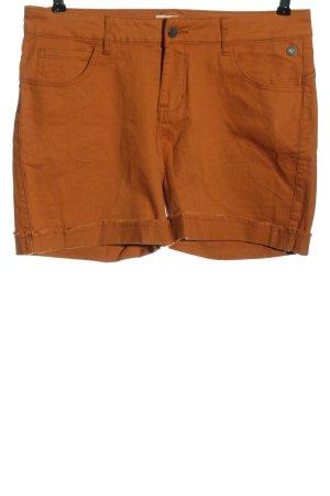 Manguun Hot pants arancione chiaro stile casual