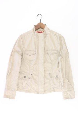 Manguun Jacke Größe 40 grau aus Baumwolle