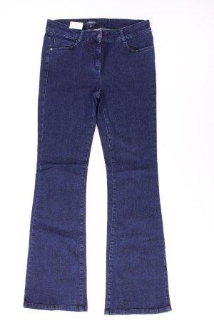 Manguun Jeans Größe 38 blau aus Baumwolle