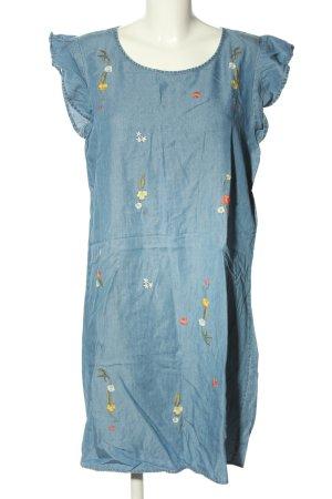 Manguun Denim Dress blue casual look