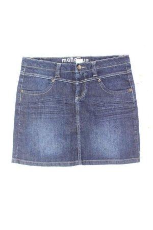 Manguun Jeansrock Größe M blau aus Baumwolle