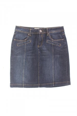 Manguun Gonna di jeans blu-blu neon-blu scuro-azzurro Cotone