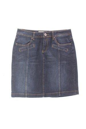 Manguun Denim Skirt blue-neon blue-dark blue-azure cotton