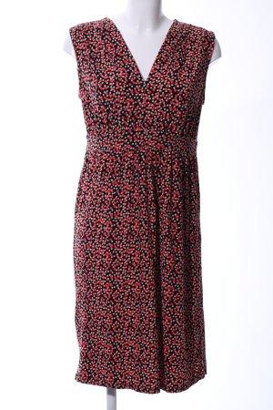 Manguun Jerseykleid Allover-Druck Elegant