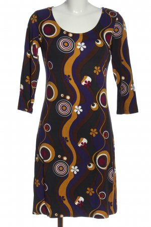 Manguun Jersey Dress abstract pattern casual look