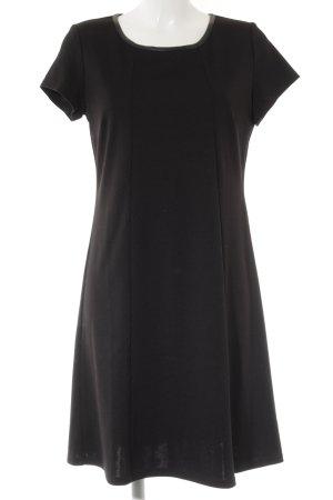 Manguun Jerseykleid schwarz Casual-Look