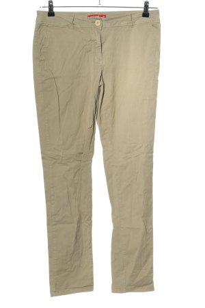 Manguun Spodnie khaki khaki W stylu casual