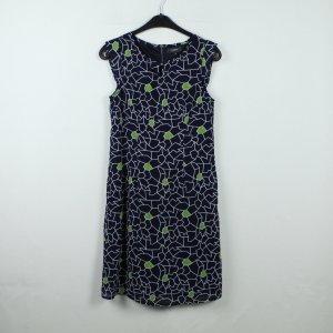 Manguun Kleid Gr. 34 blau gemustert (20/01/164*)