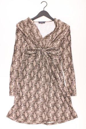 Manguun Kleid Größe 38 braun aus Viskose