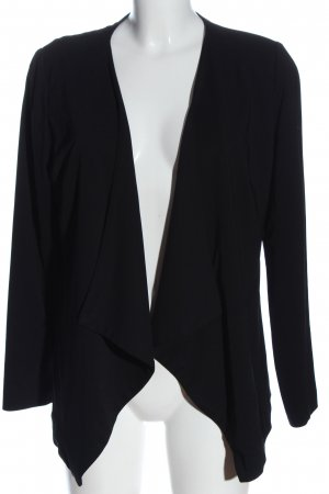 Manguun Korte blazer zwart casual uitstraling
