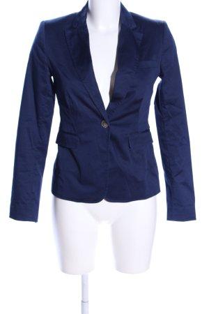 Manguun Kurz-Blazer blau Casual-Look